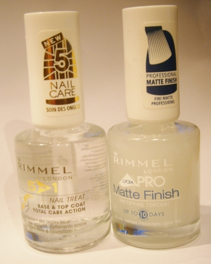 Base Coat - Top Coat - Matte Finish